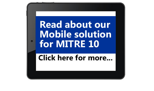 Mitre10 Supply Chain Ordering